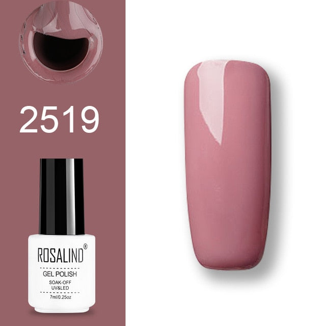 Rosalind Gel Polish Set Uv Vernis Semi Permanent Primer Top Coat 7ml P Nail Salon Store
