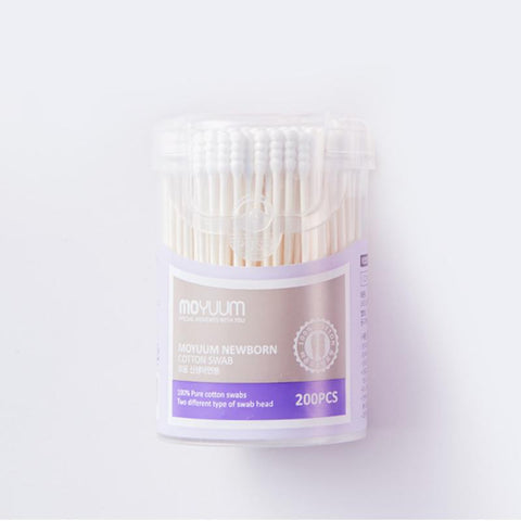 Moyuum Newborn Cotton Swab 200PCS