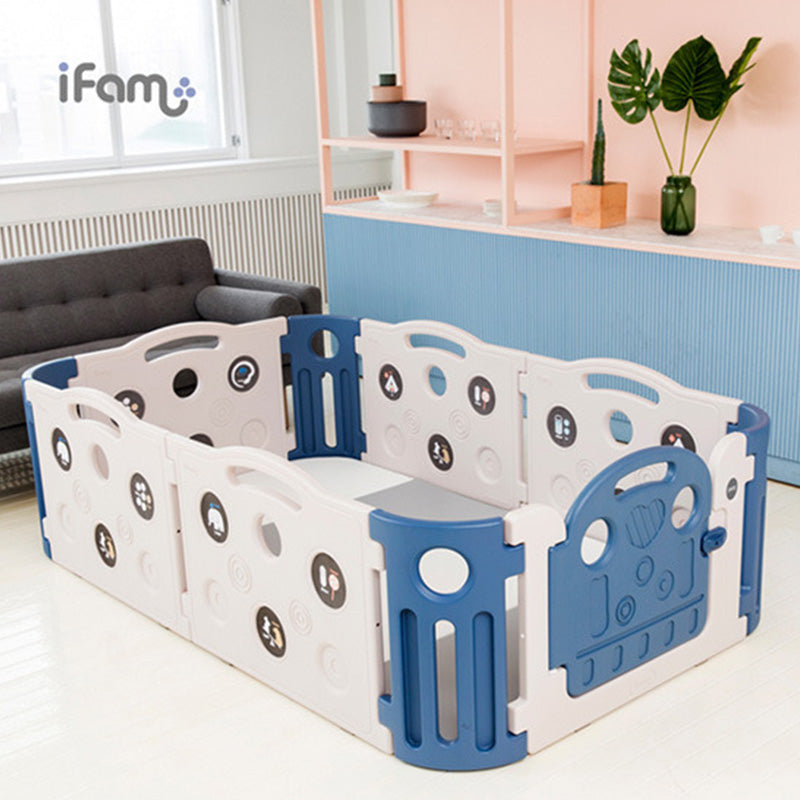 Ifam Fence Playpens Deluxe Learning Baby Room 6Pack
