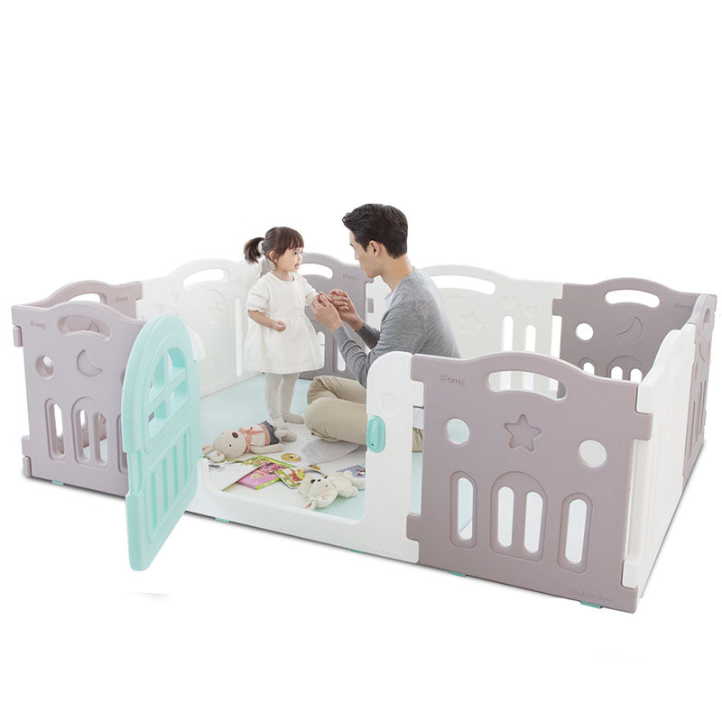 Ifam Fence Playpens Marshmallow Plus Baby Room 10Pack