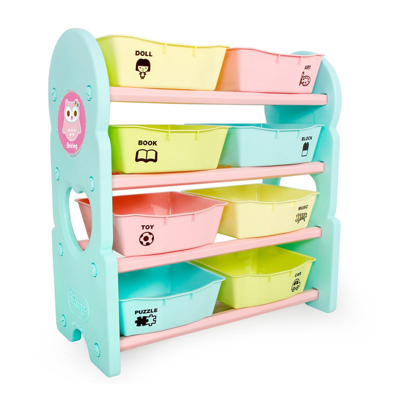 Ifam Briring 4-Shelves Toy Organizer