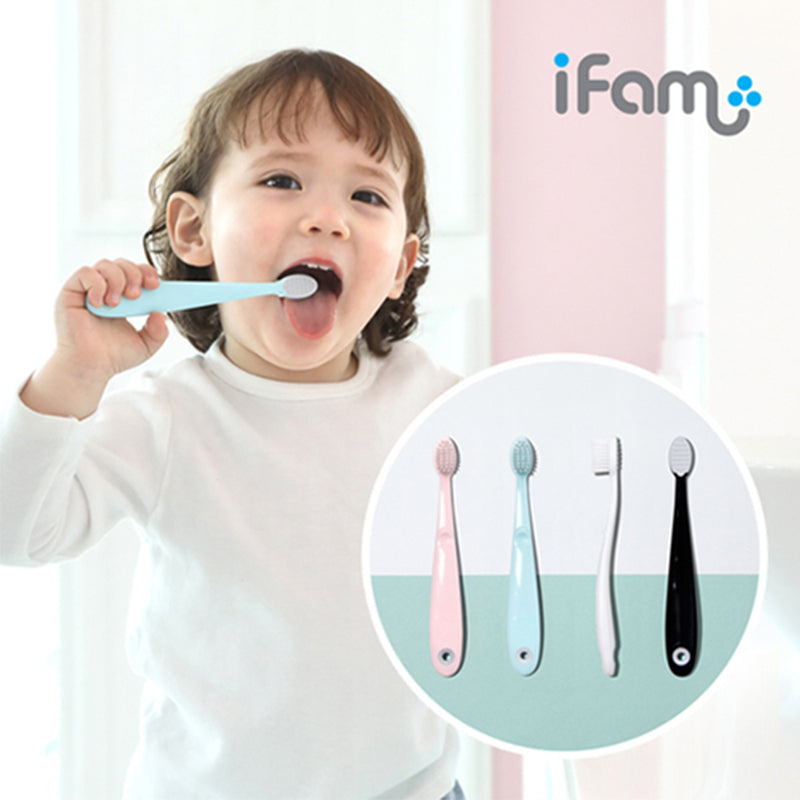 iFam Easy Doing Baby Toothbrush Set 2Pcs