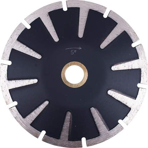 "5"" Premium Segmented Concave Diamond Blade for Granite Stone Marble Sink Cutout"