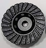 "Special Offer! 4"" Premium Turbo Cup Wheels plus 5 Pack of 4.5 Ultra Wheels GRIT 16 Grinding Silicon Carbide"