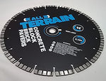 iCUT All Terrain Pro 12mm High Turbo Segment Diamond Blade Laser Welded - Hard Material - Made in USA