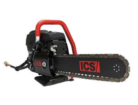 "ICS 575863 695XL-14 GC Gas Powered Concrete Cutting Chainsaw Package with 14"" Guidebar and TwinMAX Chain"