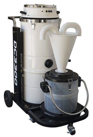 ICUT Powerful New Vacuum Dust Collector DC-3300 w/Free Separator & Floor Attachment