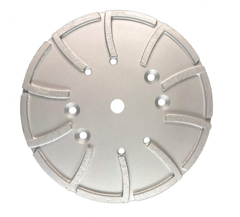 "10"" - 20 Seg Floor Grinding Plate - Medium Bond"