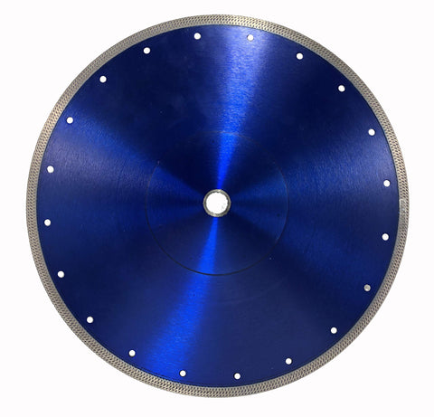 "Thin Rim Turbo Pro Diamond Blade - Cuts Ceramic Tile, Porcelain Tile and Porcelain Paver (10"")"