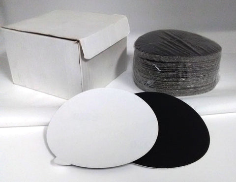 5-Inch PSA Sanding Discs Silicon Carbide GRIT 40 for Stone, Glass and Marble - Pack 100 Discs