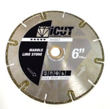 Electroplated U-Slot Diamond Saw Blade for cutting Marble, Limestone and Tiles by iCUT