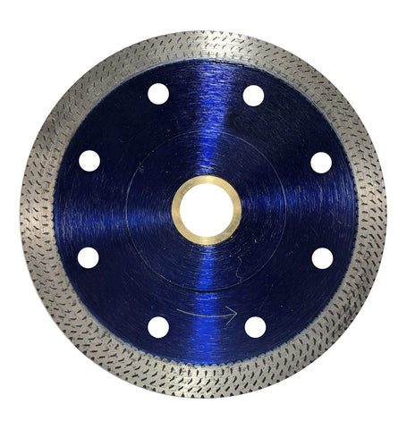 "Thin Rim Turbo Pro Diamond Blade - Cuts Ceramic Tile, Porcelain Tile and Porcelain Paver (6"")"