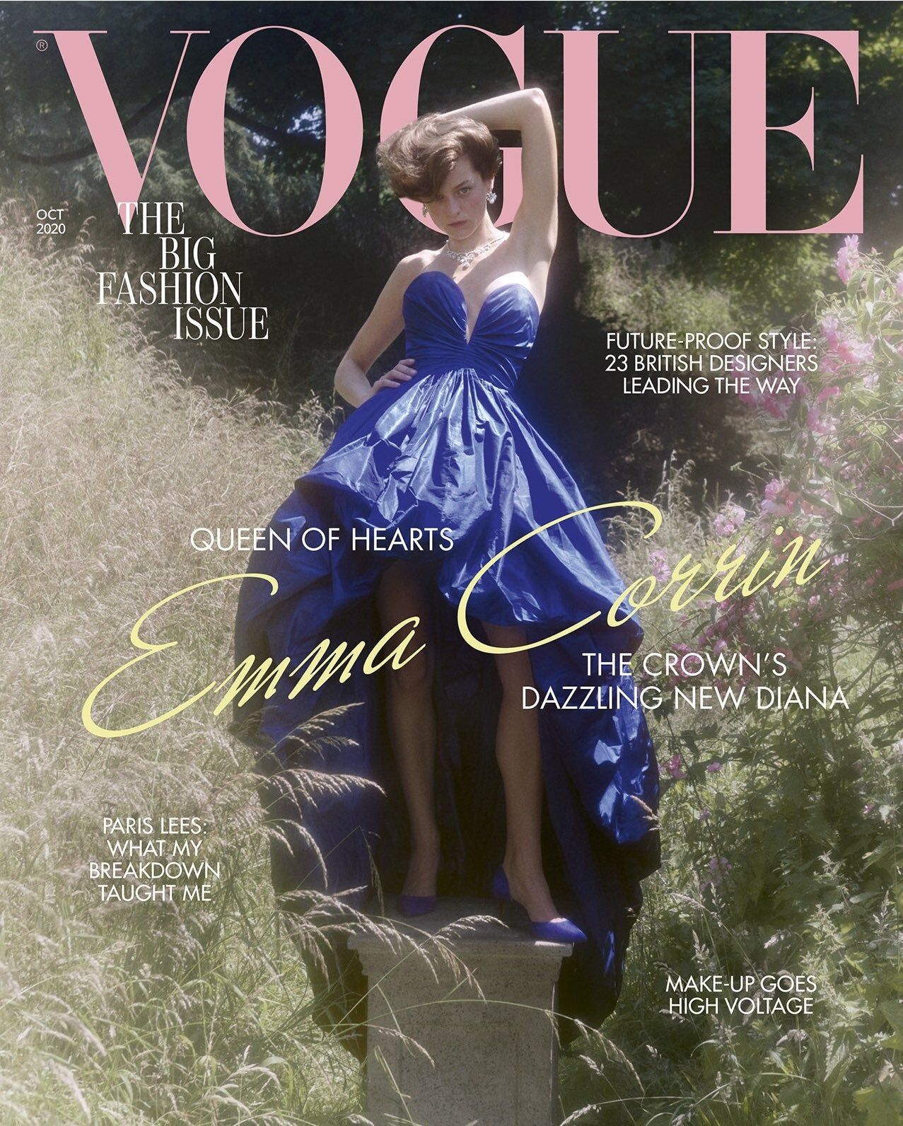 Inchoo Bijoux in British VOGUE October 2020 - Cover Emma Corrin