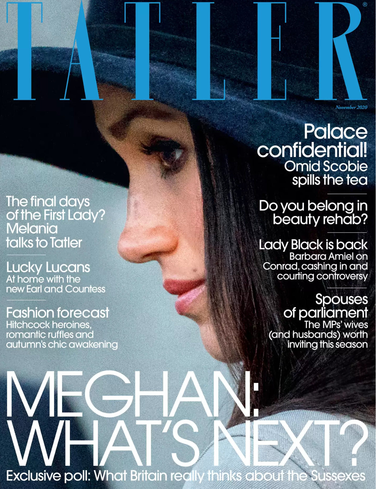 meghan duchess of sussex tatler cover november 2020