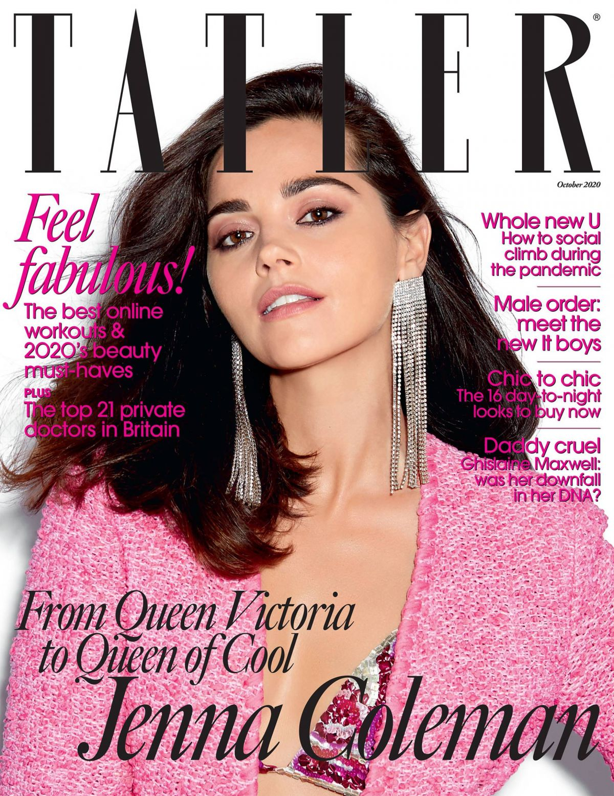Inchoo Bijoux X TATLER Magazine - October 2020 Issue with Jenna Coleman