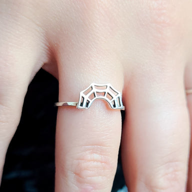 Stackable Spider Web Ring - Inchoo Bijoux