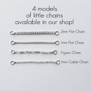 Flat Faceted Nose Chain - Inchoo Bijoux