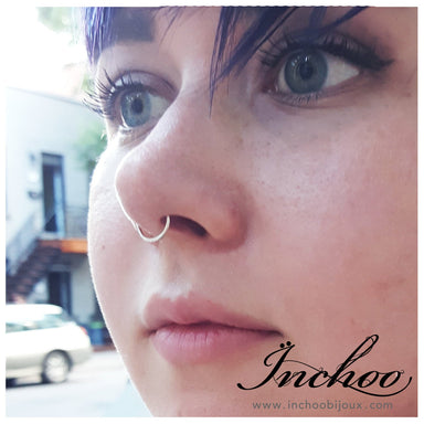 Simple Septum Nose Ring - Inchoo Bijoux