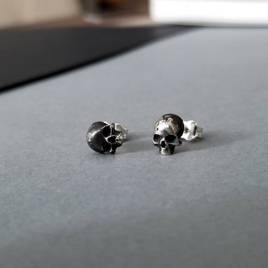 Small Skull Earrings - Inchoo Bijoux