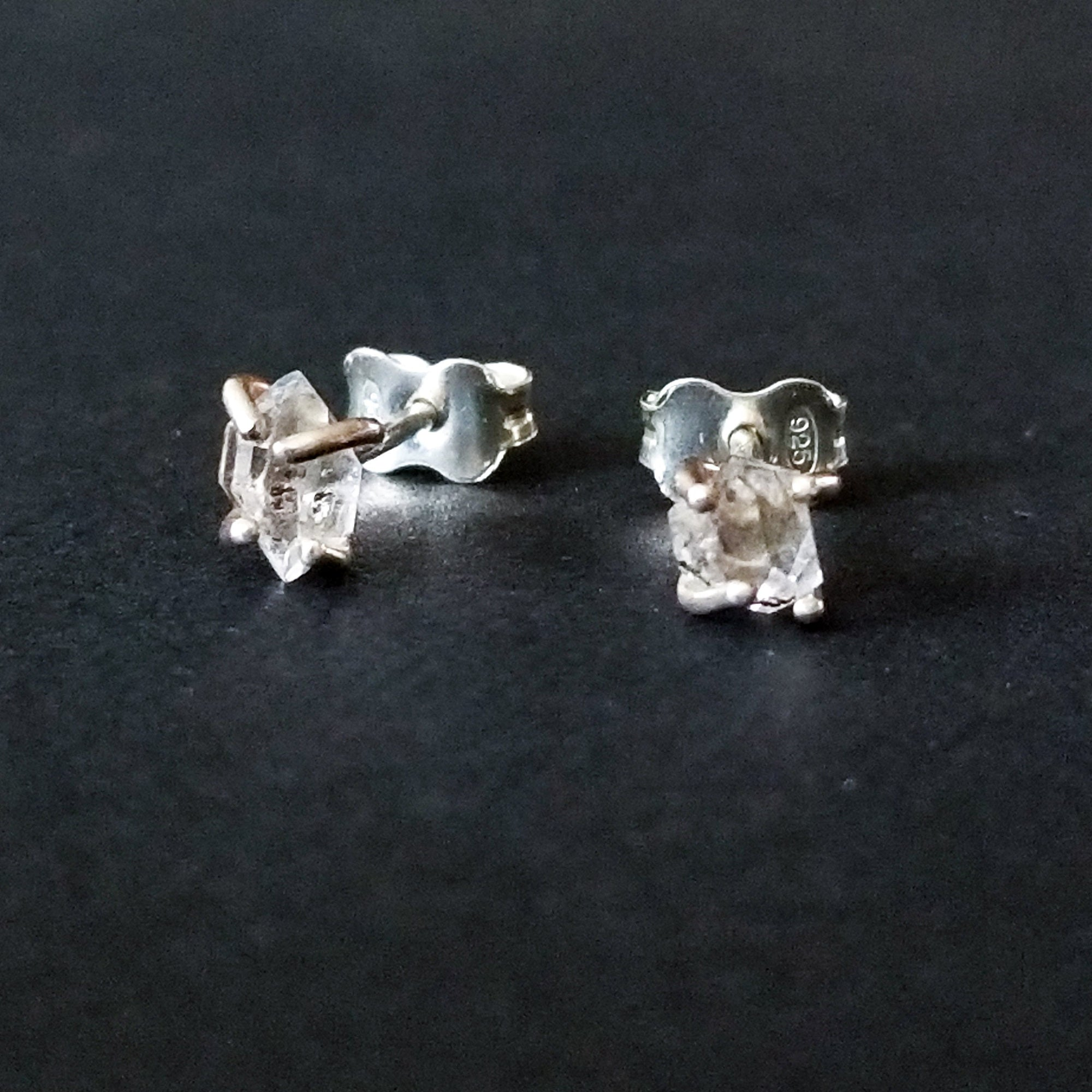 Herkimer Diamond Earrings - Inchoo Bijoux