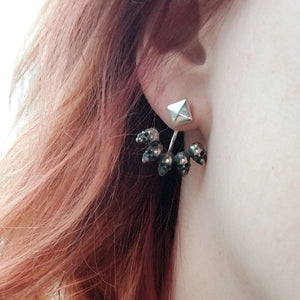 Skull Ear Jackets - Inchoo Bijoux