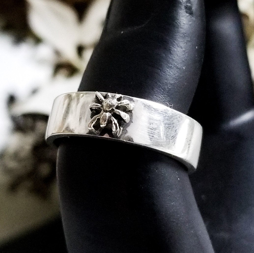 Silver Spider Ring Band - Inchoo Bijoux