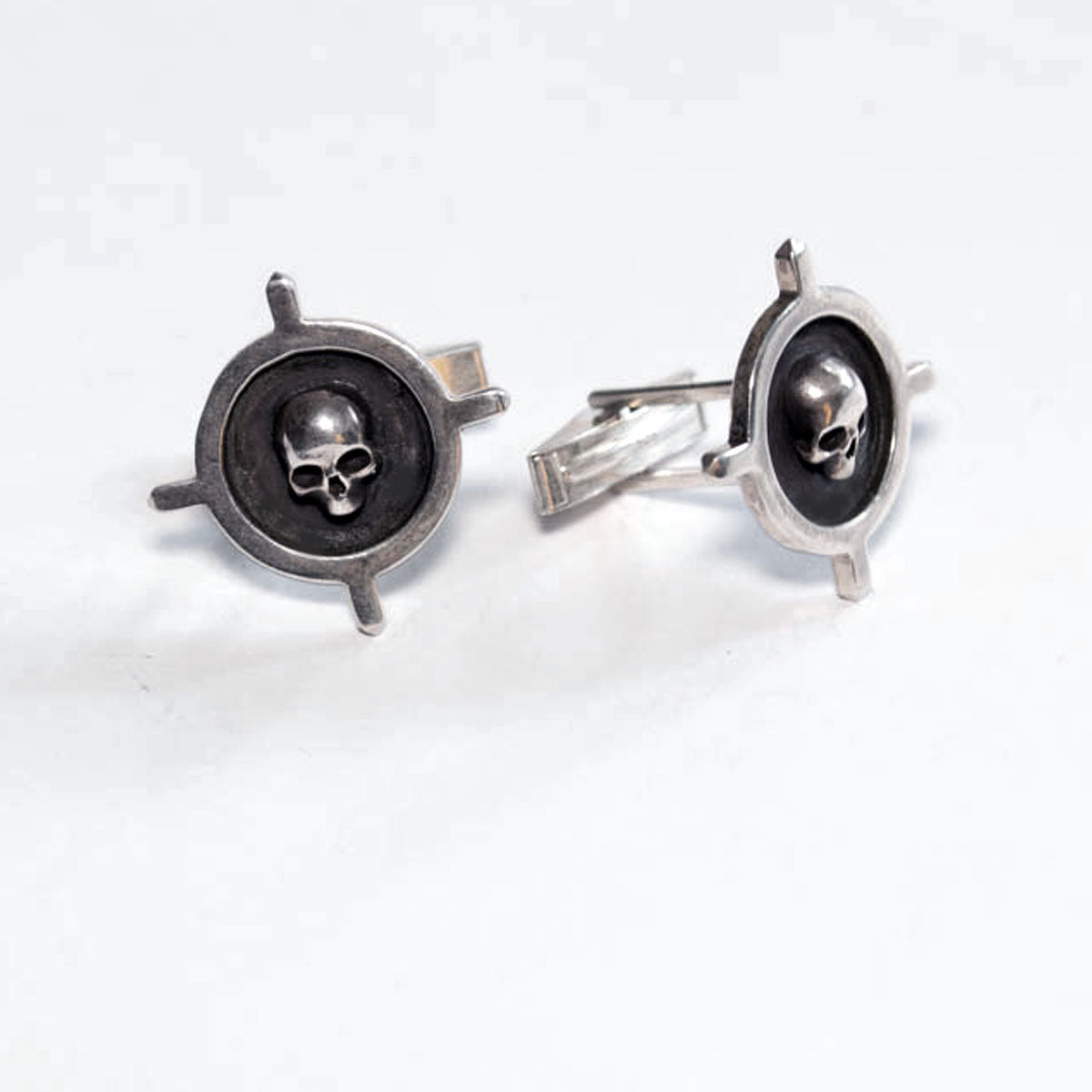 Cross Skull Cufflinks - Inchoo Bijoux