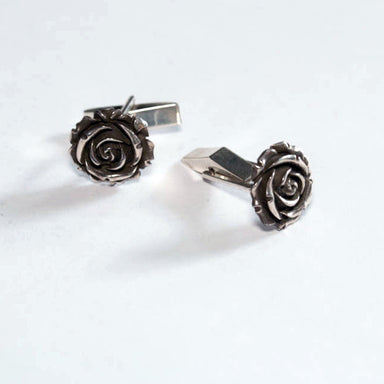 Rose Cufflinks - Inchoo Bijoux