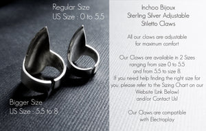 Spider Stiletto Nail Claw Ring - Inchoo Bijoux