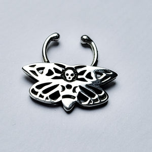 Death Moth Septum - Inchoo Bijoux