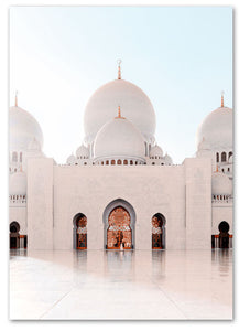 Abu Zayed Mosque - Entrance - HAYA Home Decor