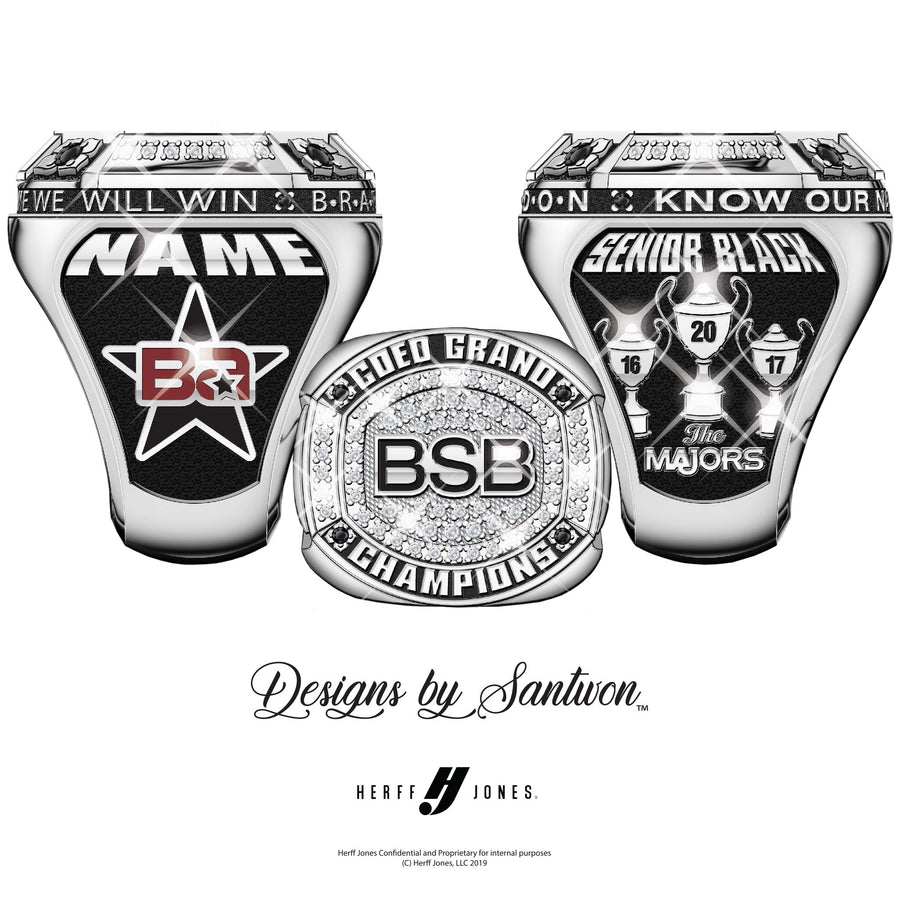 Brandon All-Stars Senior Black - 2020 Majors (5X)