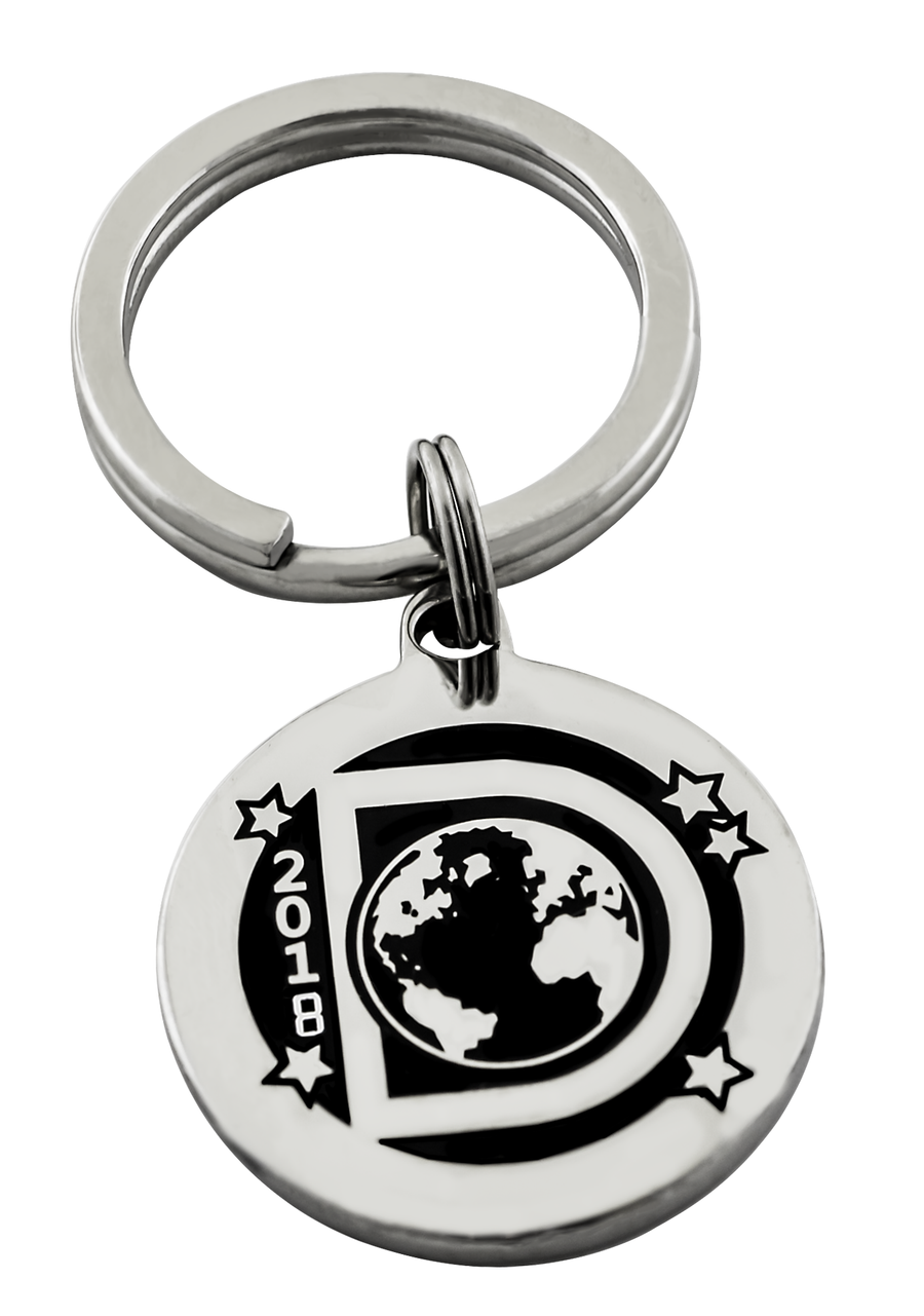 The Dance Worlds Pendant or Key Ring