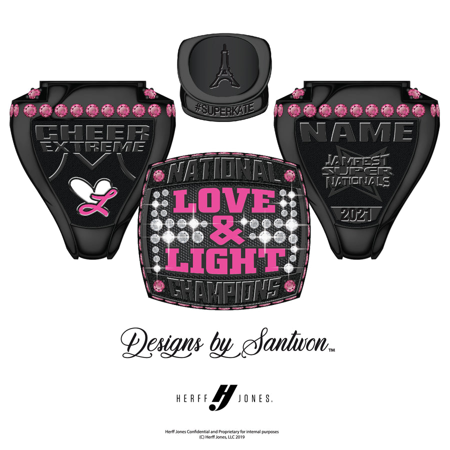 Cheer Extreme Love & Light - 2021 JamFest