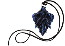 Load image into Gallery viewer, Winter Twilight Dragon Scale Pendant
