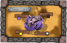 Load image into Gallery viewer, Hatchling: Lung | Interior: Poisonous Purple | Exterior: Gold