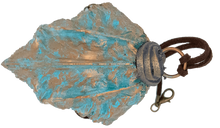 Load image into Gallery viewer, Copper Drake Scale Pendant