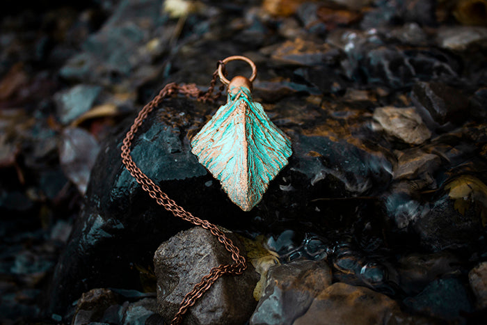 Copper Lung Scale Charm