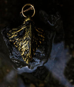 Gold Wyvern Scale Charm