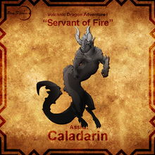"Load image into Gallery viewer, Volcanic Adventure I - ""Servant of Fire"""