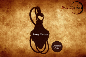 Winter Twilight Lung Scale Charm