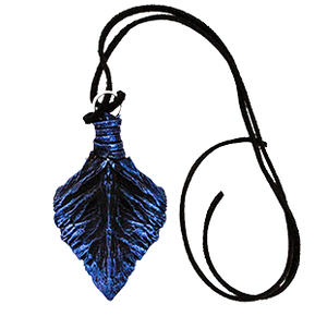 Winter Twilight Lung Scale Pendant