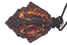 Load image into Gallery viewer, Volcanic Drake Scale Pendant