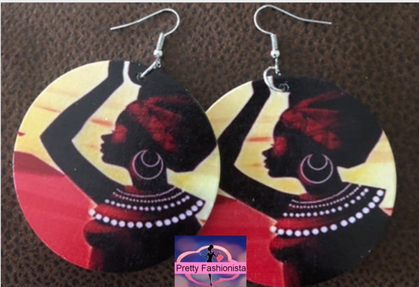 On the Horizon Circle Earrings