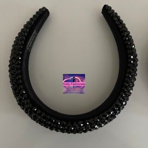 Full Crystal Fashion Headband