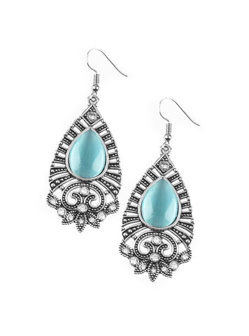 Malibu Blue Teardrop Earrings
