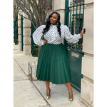 Giselle Pleat Skirt