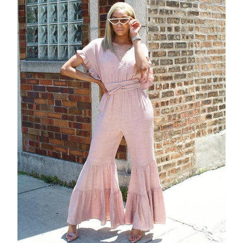 Bella Bell Bottom Jumpsuit