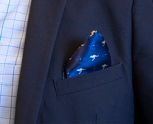 Kangaroo Pocket Square