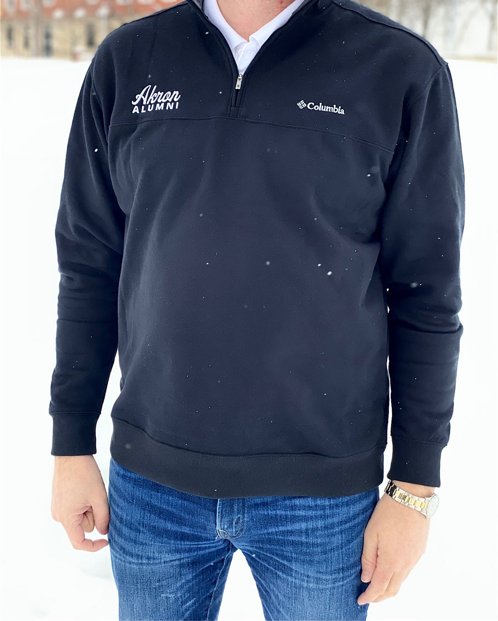 Men's Columbia 1/2 Zip